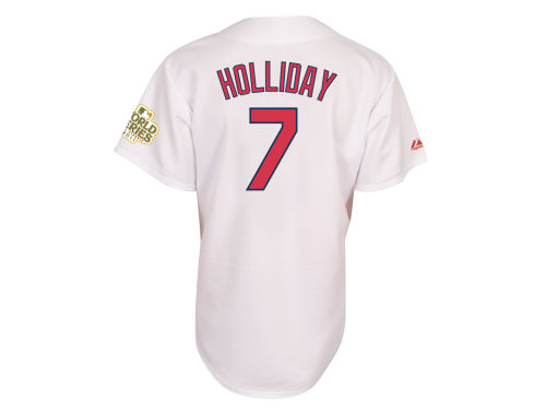 St. Louis Cardinals Matt Holliday Majestic MLB Player Replica Jersey MD