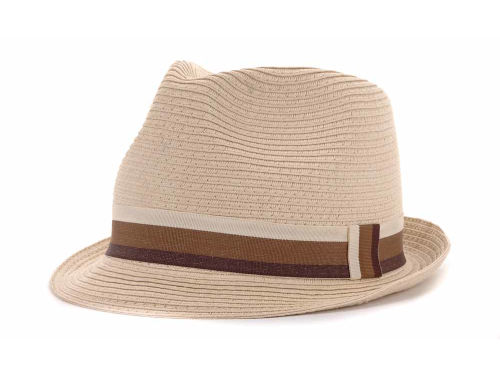LIDS Private Label PL Straw Fedora 12 Hats