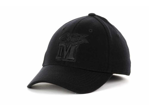 Maryland Terrapins Top of the World NCAA Black Tonal PC Cap Hats