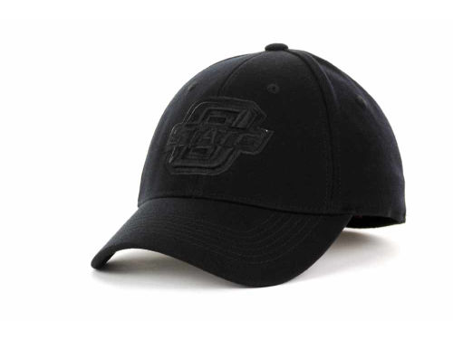 Oklahoma State Cowboys Top of the World NCAA Black Tonal PC Cap Hats