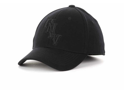 UNLV Runnin Rebels Top of the World NCAA Black Tonal PC Cap Hats