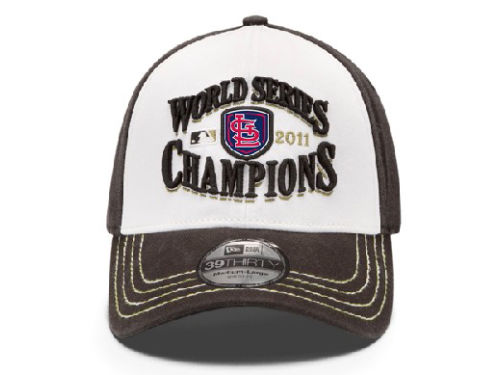 St. Louis Cardinals New Era MLB World Series Champ 39THIRTY Hats