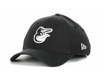 Baltimore Orioles MLB Black and White Ace 39THIRTY Hats