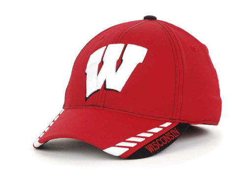 Wisconsin Badgers Top of the World NCAA Fastlane 1-Fit Cap Hats