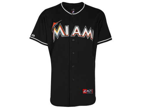 Miami Marlins Majestic MLB Youth Blank Replica Jersey