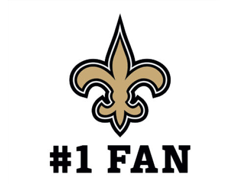 New Orleans Saints Wincraft 3x4 Ultra Decal