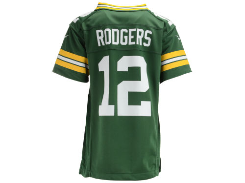 Green Bay Packers Aaron Rodgers Outerstuff NFL Youth Game Jersey