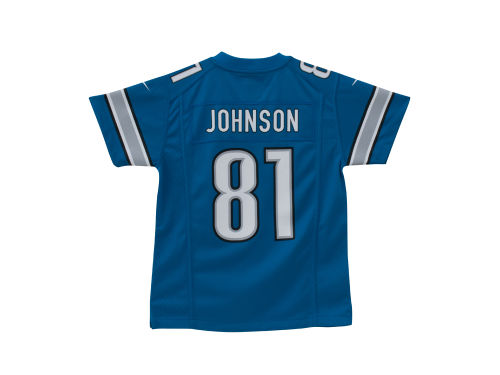 Detroit Lions Calvin Johnson Nike NFL Youth Game Jersey