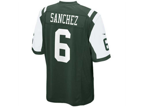 New York Jets Mark Sanchez Nike NFL Youth Game Jersey
