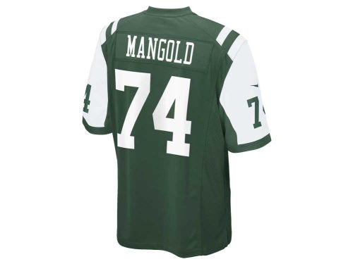 New York Jets Nick Mangold Outerstuff NFL Kids Game Jersey