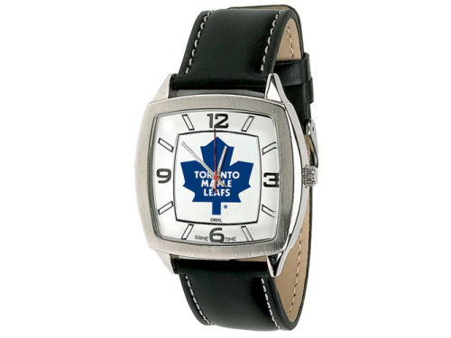 Toronto Maple Leafs Retro Leather Watch