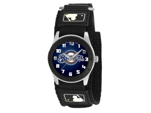 Milwaukee Brewers Game Time Pro Rookie Kids Watch Black