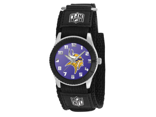 Minnesota Vikings Rookie Kids Watch Black