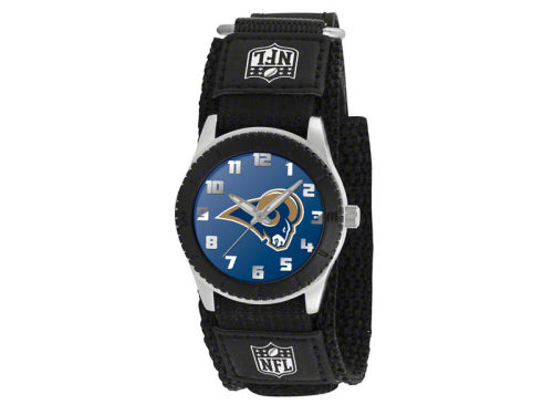 St. Louis Rams Game Time Pro Rookie Kids Watch Black