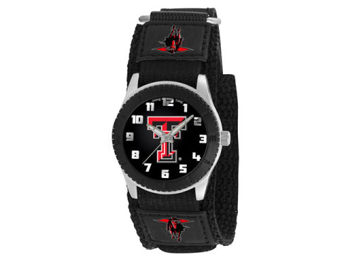 Texas Tech Red Raiders Game Time Pro Rookie Kids Watch Black