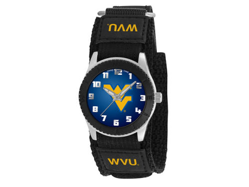West Virginia Mountaineers Game Time Pro Rookie Kids Watch Black