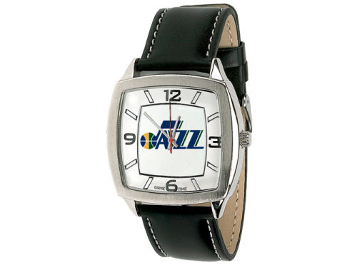 Utah Jazz Retro Leather Watch