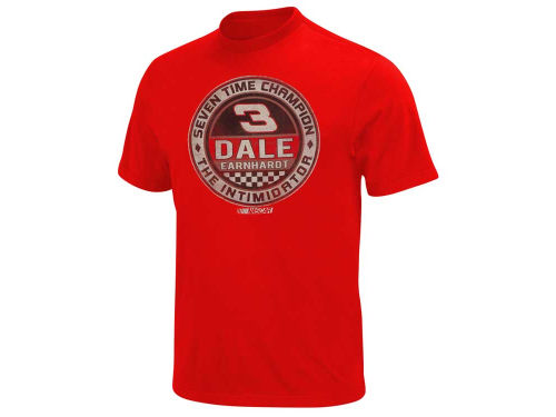 Dale Earnhardt Checkered Circle T-Shirt