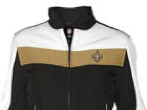 New Orleans Saints GIII NFL Womens Color Blocked Softshell Jacket