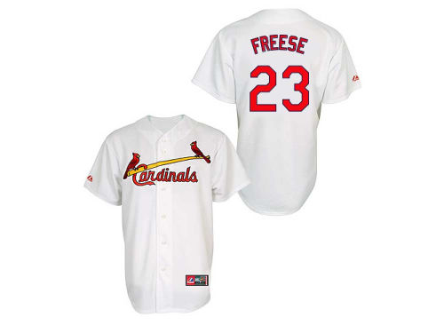 St. Louis Cardinals David Freese Majestic MLB Youth Player Replica Jersey
