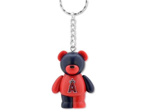 Los Angeles Angels of Anaheim PVC Bear Keychain