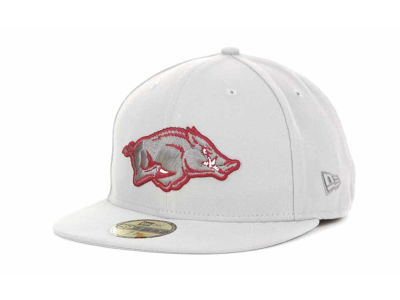 Arkansas Razorbacks NCAA Alloy 59FIFTY Hats