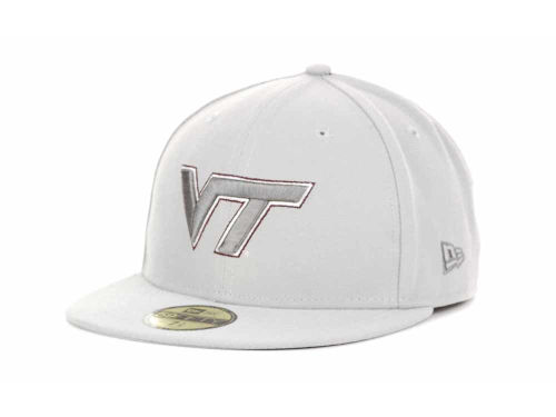 Virginia Tech Hokies New Era NCAA Alloy 59FIFTY Hats