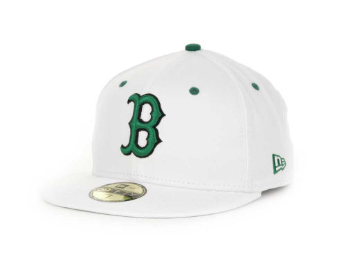 Boston Red Sox New Era MLB White BC 59FIFTY Hats