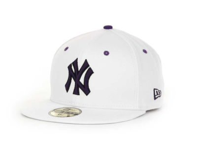 New York Yankees MLB White BC 59FIFTY Hats