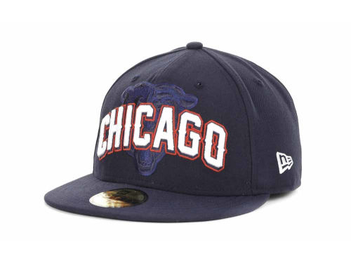 Chicago Bears New Era NFL 2012 Draft 59FIFTY Hats