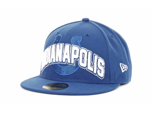 Indianapolis Colts New Era NFL 2012 Draft 59FIFTY Hats