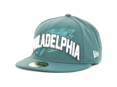 Philadelphia Eagles NFL 2012 Draft 59FIFTY Hats