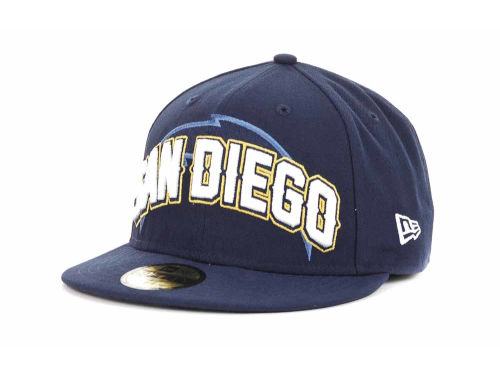 San Diego Chargers New Era NFL 2012 Draft 59FIFTY Hats