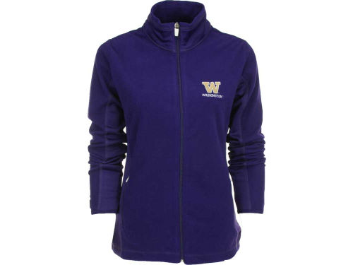 Washington Huskies Antigua NCAA Womens Sleet Full Zip Fleece