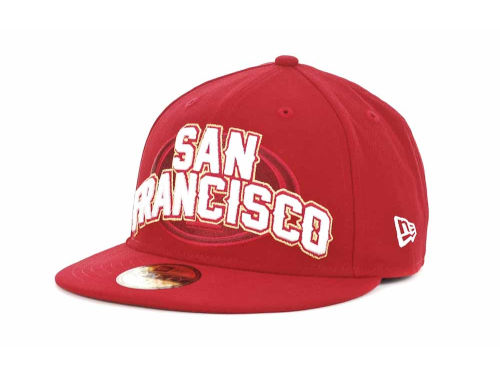 San Francisco 49ers New Era NFL 2012 Kids NFL Draft 59FIFTY Hats