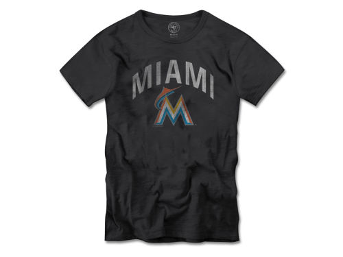 Miami Marlins MLB Women's Scrum T-Shirt