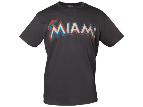 Miami Marlins MLB Men's Fieldhouse Basic T-Shirt
