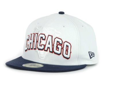 Chicago Bears NFL White Draft 59FIFTY Hats