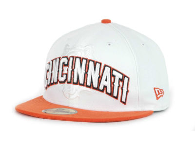 Cincinnati Bengals NFL White Draft 59FIFTY Hats