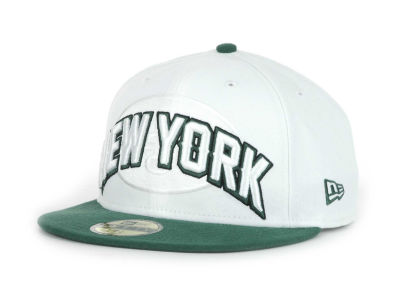 New York Jets NFL White Draft 59FIFTY Hats