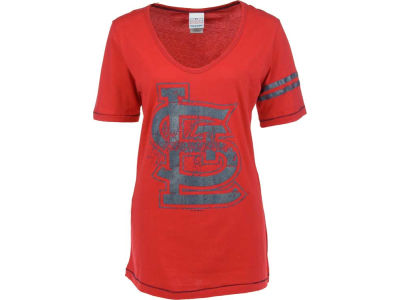St. Louis Cardinals MLB Womens Tunic Baby Jersey T-Shirt 1003