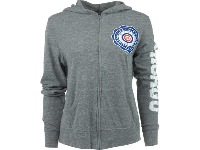 Chicago Cubs MLB Womens Jersey Full Zip Hoodie 10006