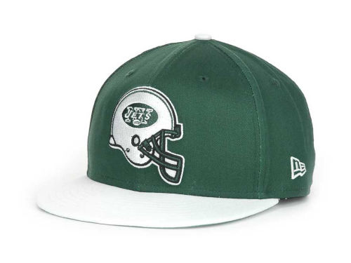 New York Jets New Era NFL Goal Line 9FIFTY Snapback Hats