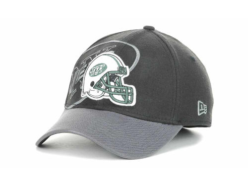 New York Jets New Era NFL Black Gray All Pro 39THIRTY Hats