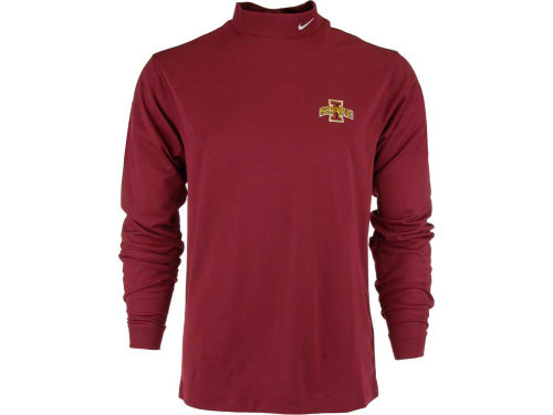Iowa State Cyclones Nike NCAA Long Sleeve Stretch Mock Pullover