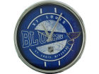 St. Louis Blues Chrome Clock Bed & Bath