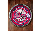 St. Louis Cardinals Chrome Clock Bed & Bath