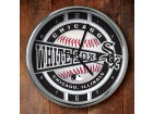 Chicago White Sox Chrome Clock Bed & Bath