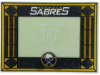 Buffalo Sabres Art Glass Picture Frame Bed & Bath