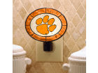 Clemson Tigers Art Glass Night Light Knick Knacks
